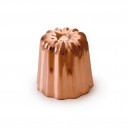 "MAUVIEL 4180 - M'passion Collection - Copper & Tin inside ""Cannelé"" mold"