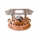 MAUVIEL 2702 - M'plus Collection - Copper Heater with alcohol burner, bronze handle