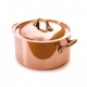 MAUVIEL 6722 - M'héritage Collection - Copper & stainless steel Stewpan, bronze handles