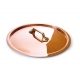 MAUVIEL 2165 - M'tradition Collection - Copper & Tin Lid with bronze handle